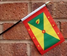 HAND WAVING FLAG (SMALL) - Grenada